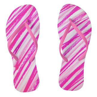 Candy Scribble Flips Flip Flops