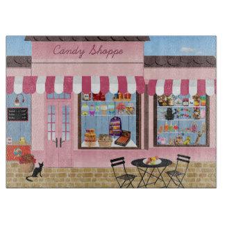Candy Shop Cutting Board