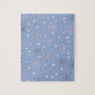 Candy snowflakes jigsaw puzzle