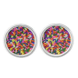 Candy Sprinkles Cuff Links