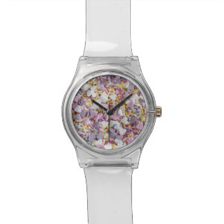 Candy sprinkles photo modern trendy hipster foodie wrist watch
