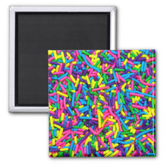 Candy sprinkles print magnet