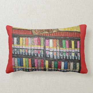 Candy Store Art Pillow