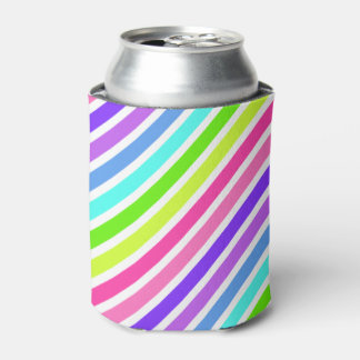 Candy Striped Can Cooler