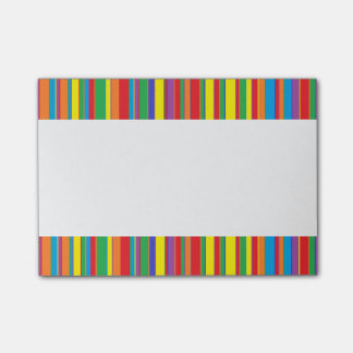 Candy Striped Lunch Box Notes Post-it® Notes