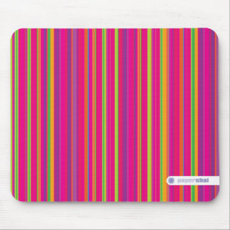 Candy striped mousepad