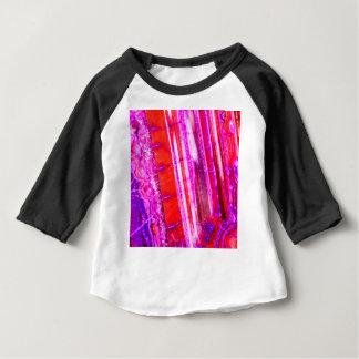 Candy Striped Red & Purple Quartz Baby T-Shirt