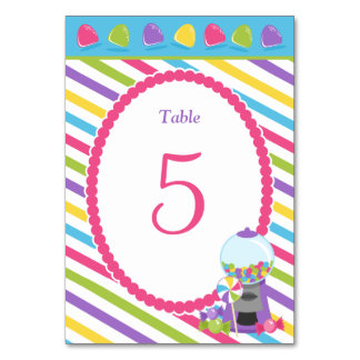 Candy Stripes Card