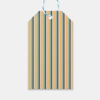 Candy Stripes Pattern Gift Tags