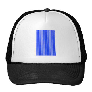 Candy Strips Blue The MUSEUM Zazzle Gifts Trucker Hat