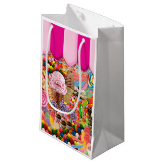 Candy Super Sweet Ice Cream Funny Small Gift Bag