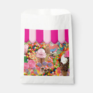 Candy Sweet Sixteen Ice Cream Cute Favour Bag