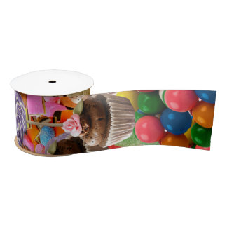 candy Sweet Sixteen Ice Cream Satin Ribbon