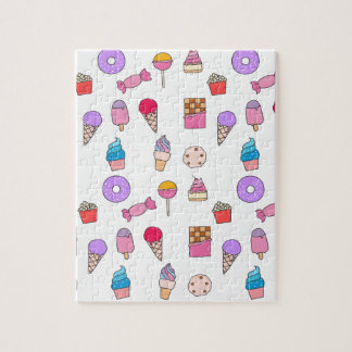 Candy, sweets and cake jigsaw puzzle