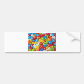 Candy Sweets Colorful Bumper Sticker