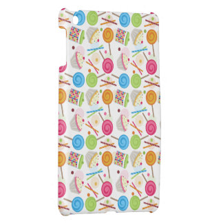 Candy & Sweets Pattern iPad Mini Case