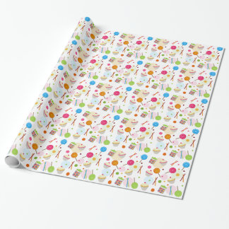 Candy & Sweets Theme Wrapping Paper