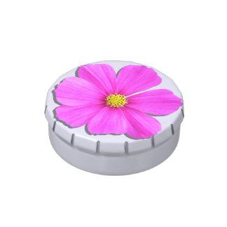 Candy Tin - Dark Pink Cosmos