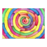 """Candy Waters Autism Artist 5"""" X 7"""" Invitation Card"""