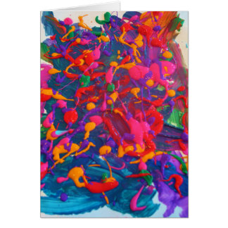 Candy Waters Autism Artist Card