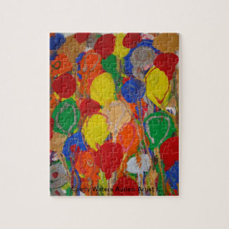 Candy Waters Autism Artist Jigsaw Puzzle