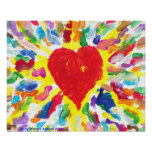 Candy Waters Autism Artist Painting Poster Posters