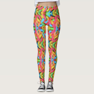 Candy Worms Leggings