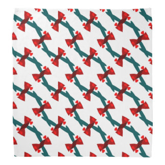 Candy-Wrapper Design on Bandana