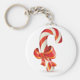 Candycane Keychain