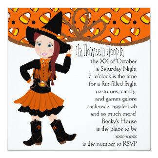 Candycorn Cowgirl! Card