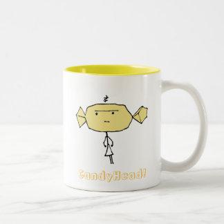 CandyHead grrr Mug Yellow