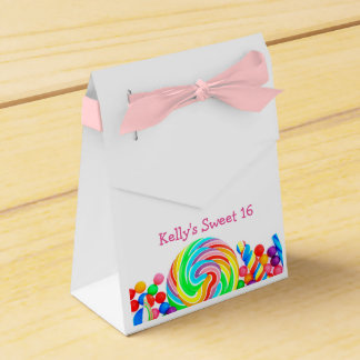 Candyland Sweet 16 Favor Candy Box