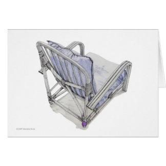 Cane Chair Card