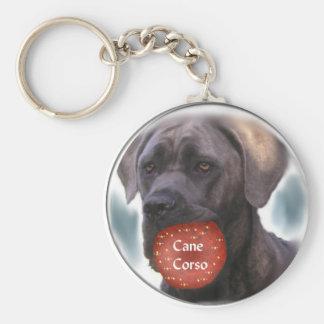 Cane Corso Christmas Gifts Keychain