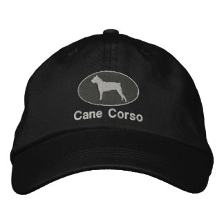 Cane Corso Embroidered Hat (Dark)