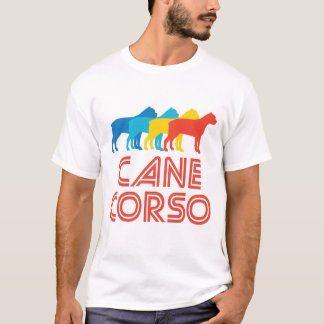 Cane Corso Retro Pop Art T-Shirt