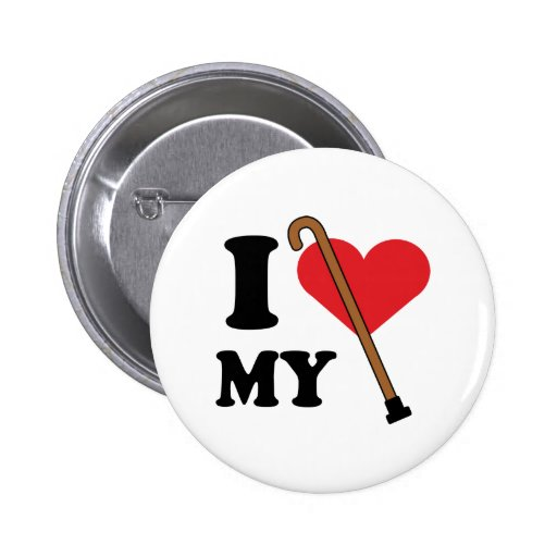 Cane Love Button