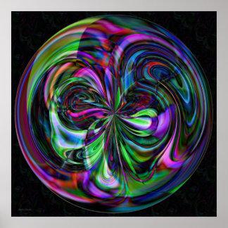 Cane Magic Mandala - Fractal Print