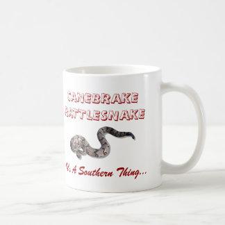 canebrake, canebrake, CANEBRAKERATTLESNAKE, It'... Coffee Mug