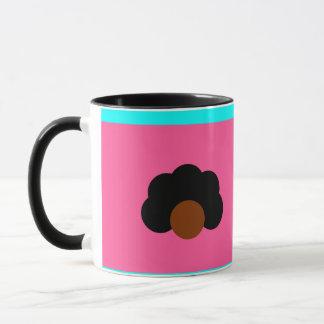 caneca amor preto / black love mug