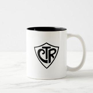 Caneca CTR Two-Tone Coffee Mug