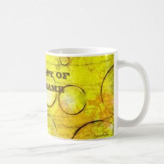 Caneca modelo 2yourhome + nome coffee mug