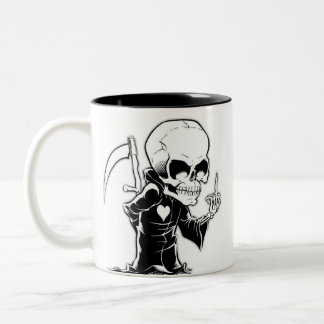 Caneca Morte Two-Tone Coffee Mug