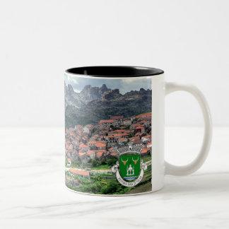 Caneca Pitoes Preta modelo 2 Two-Tone Coffee Mug