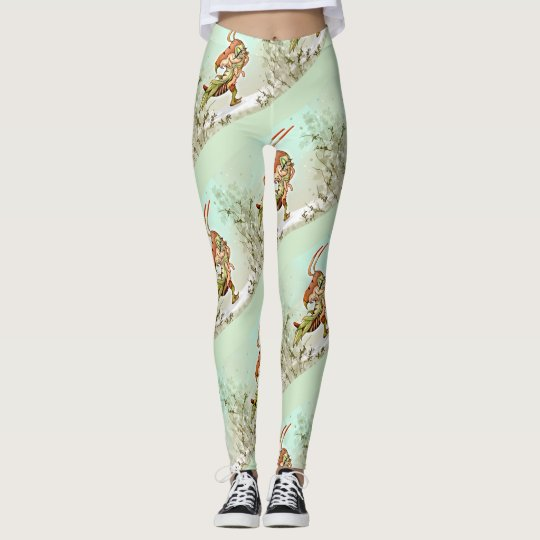 CANELLE CUTE ALIEN CARTOON Leggings
