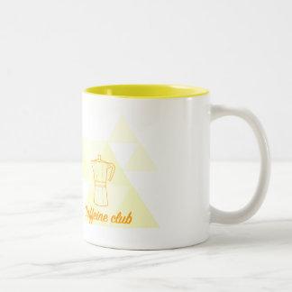 Canequinha Caffeine Club of the Guide of the Two-Tone Coffee Mug