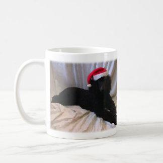 Caniche standard tasse à café