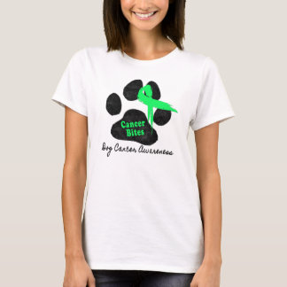 Canine Lymphoma - Cancer Bites T-Shirt