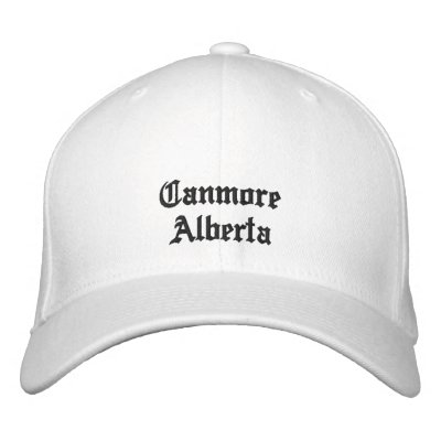 Canmore Alberta Hat Embroidered Baseball Caps