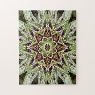 Canna-Mandala... Jigsaw Puzzle